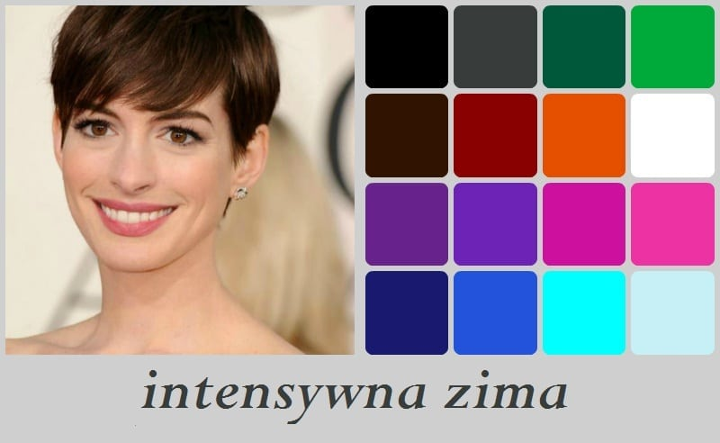 Anne Hathaway, intensywna zima
