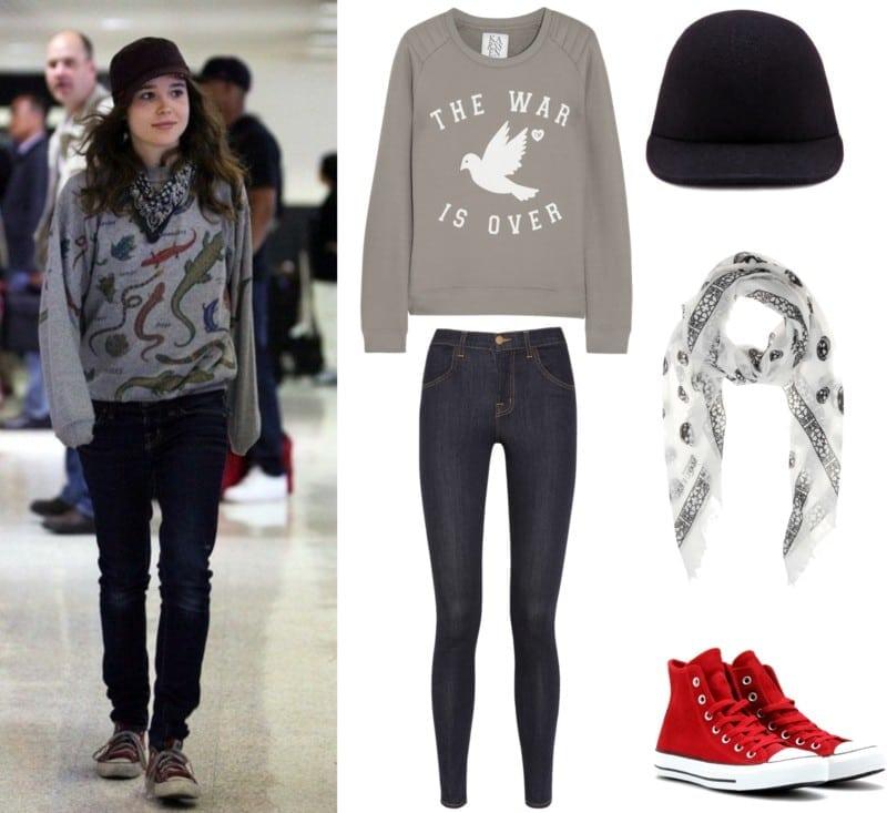 styl Ellen Page