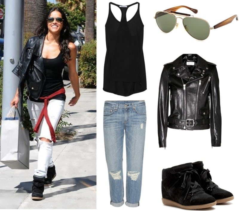 styl Michelle Rodriguez