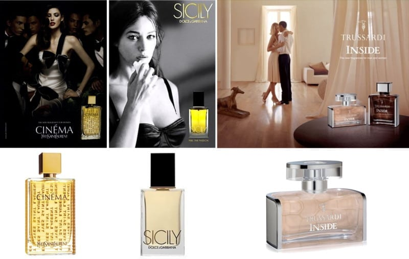 monica belluci perfumy