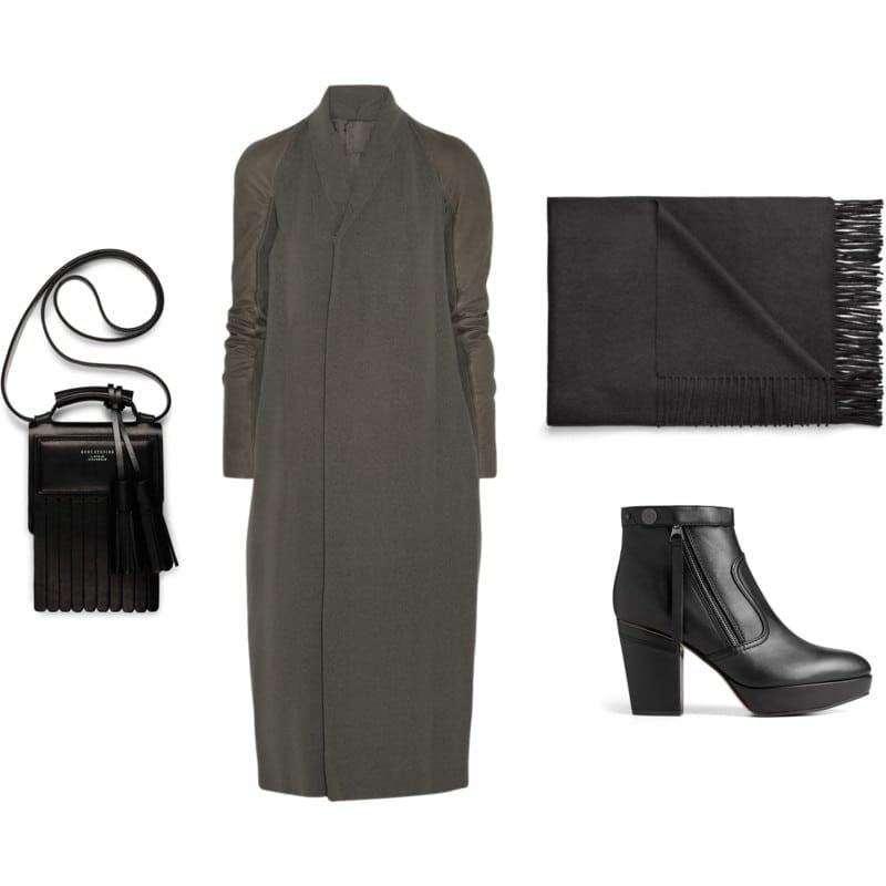 minimalizm płaszcz