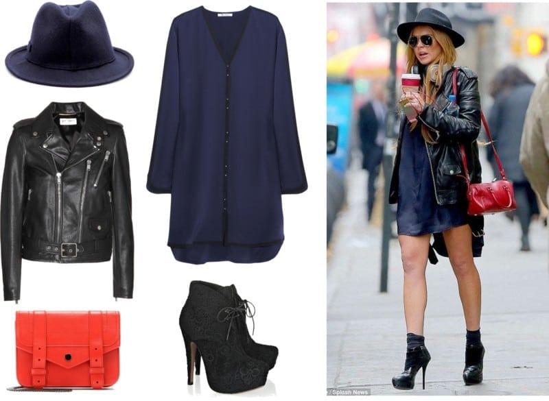 Lindsay Lohan styl
