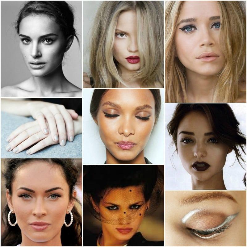 makijaż minimalizm