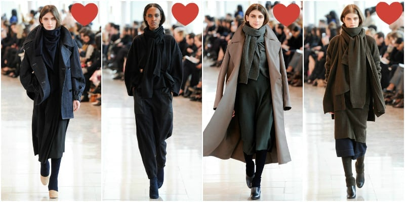 Christophe Lemaire fall rtw 2014 love