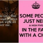Jestem miła, ale…