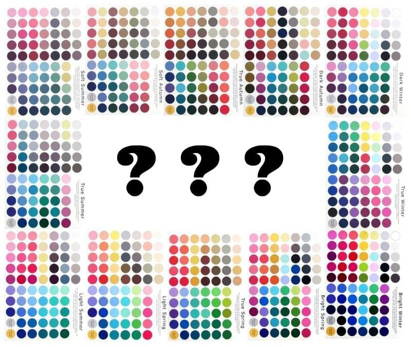 paletki analiza kolorystyczna