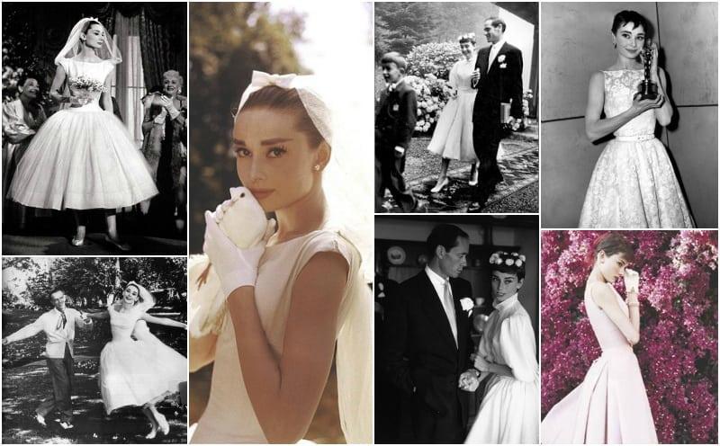 Audrey Hepburn suknia ślubna