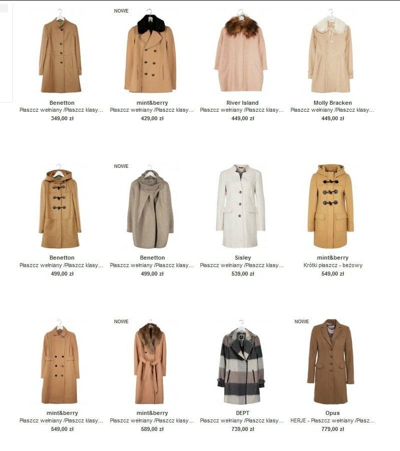 płaszcze - zalando