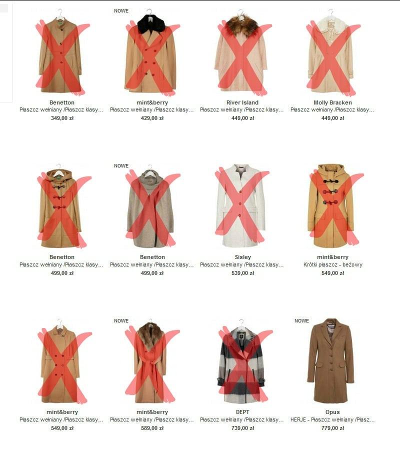 zalando - płaszcz zimowy