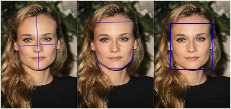 diane kruger kwadratowa twarz