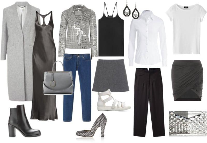 styl glamour - chłodne kolory