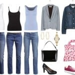 "Styl ""girl next door"" – uniform"