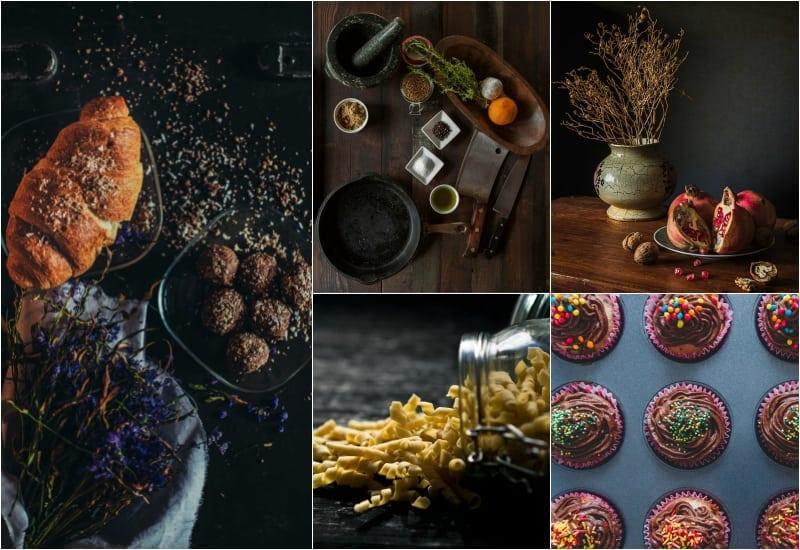 intensywna jesień jedzenie
