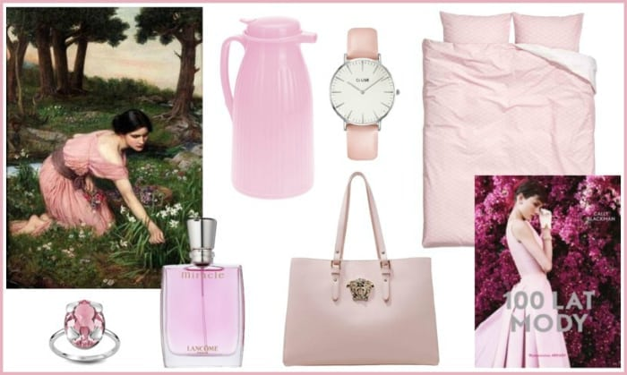 blady róż moda