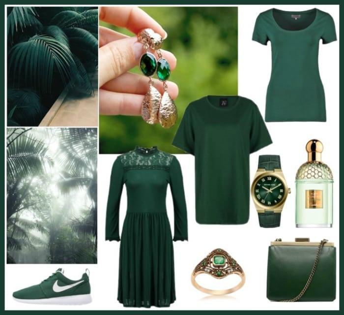 zielony moda