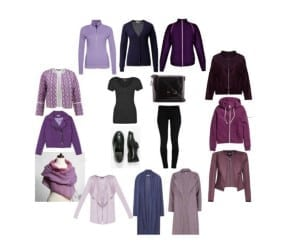 fiolety moda