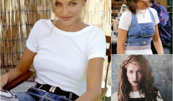 biała koszulka lata 90-te
