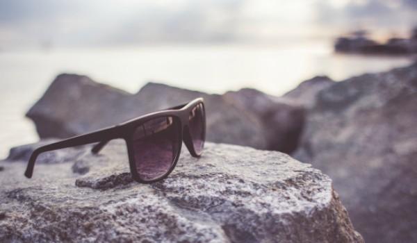 okulary czarne