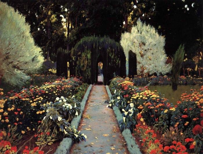 ogród w aranjuez