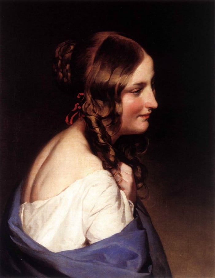 wizerunek dziewczyny amerling