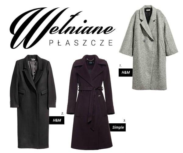 Bardzo Gdzie kupić - wełniany płaszcz NP-89