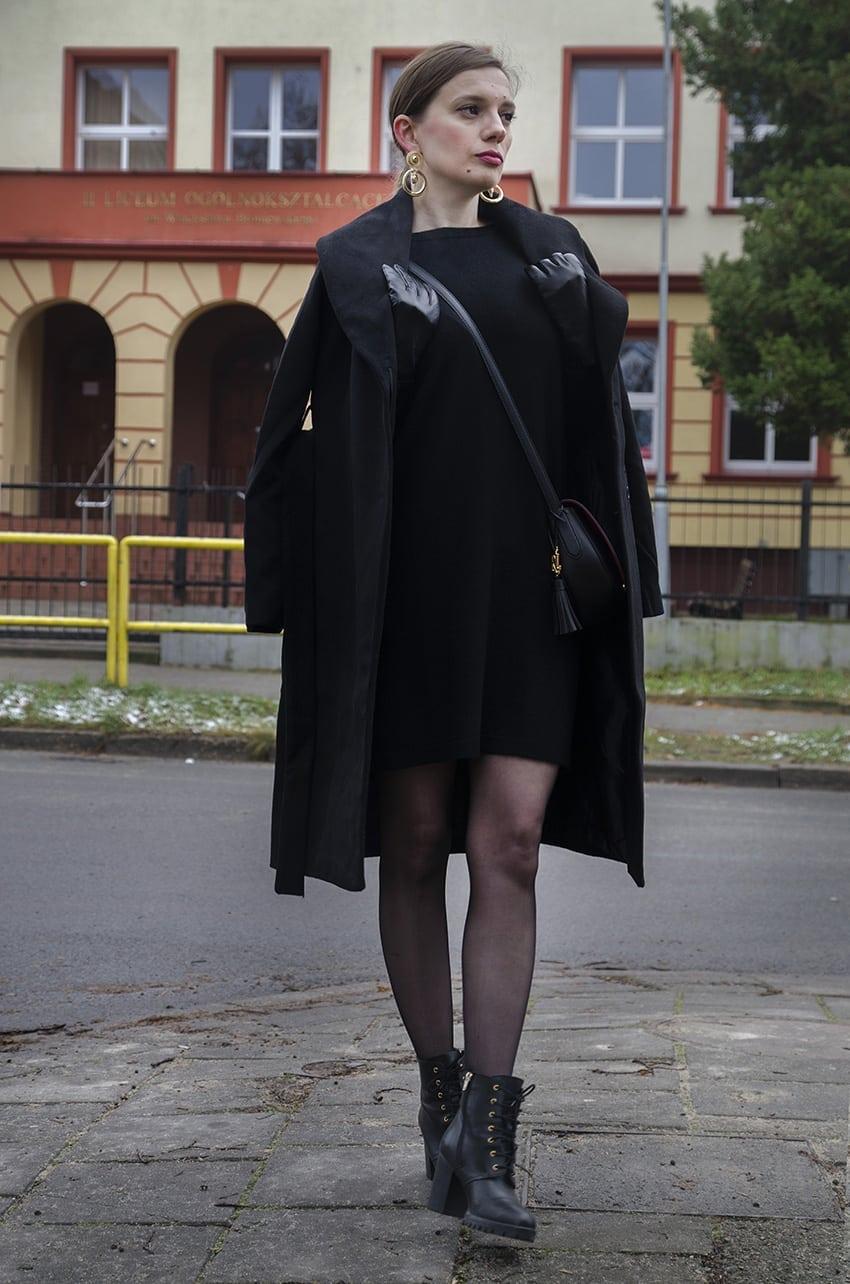 32aa8a97280f2 Sukienka Benetton Torebka Lauren Ralph Lauren Kolczyki Topshop Buty Fiore  di Lucia Milano