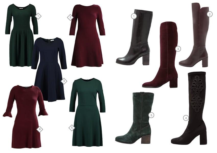 c70f7dda5c9ec Jak nosić sukienki do zimowych butów | Ubieraj się klasycznie