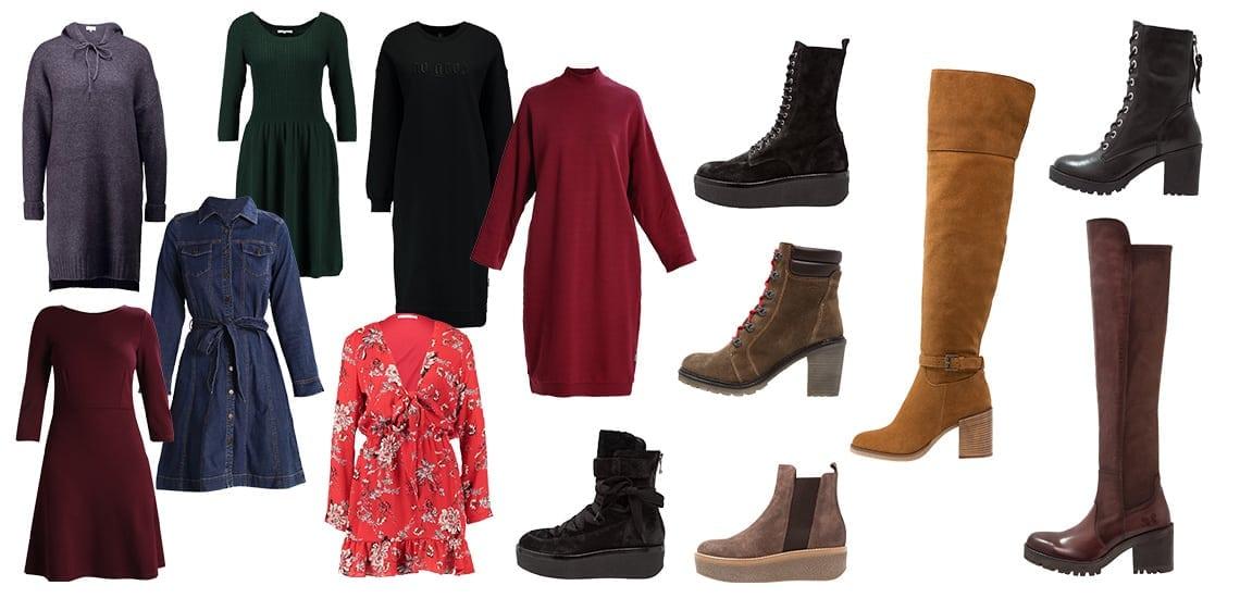 d719a1604e Jak nosić sukienki do zimowych butów