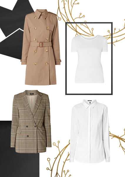 d90c785881ea8 koszula Esprit Collection, trencz Lauren Ralph Lauren, koszulka Montego,  marynarka Review